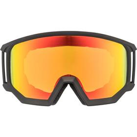 UVEX Athletic CV Goggles black mat/colorvision orange storm